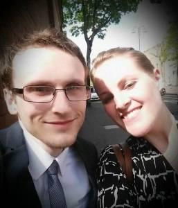 Jonathan Hanna en Monique Post